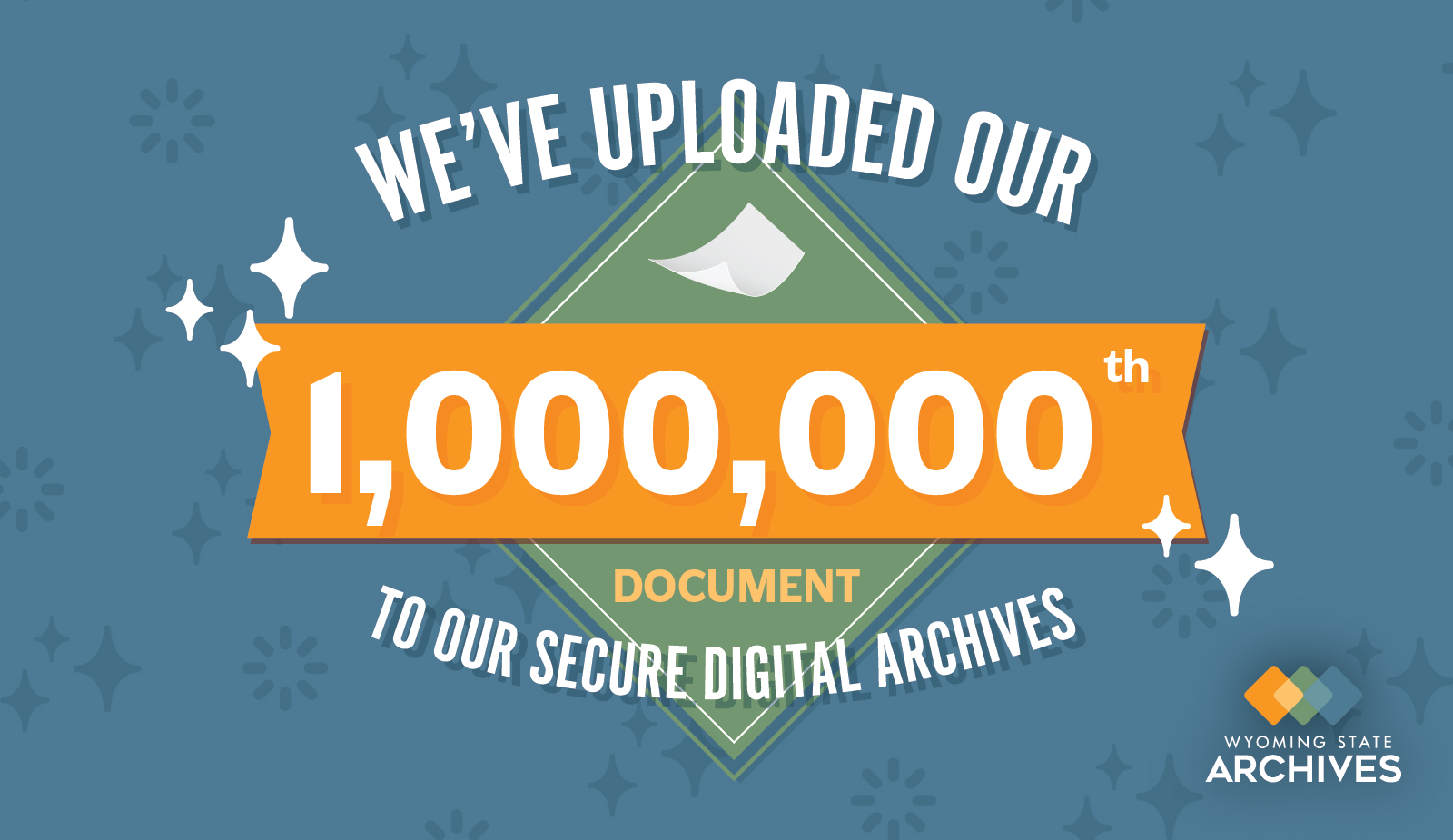 Digital Archives - 1,000,000th Upload